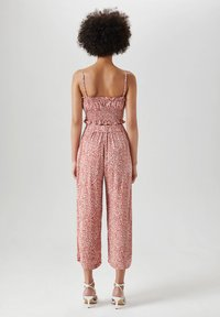 PULL&BEAR - Trousers - light red - 2
