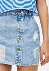 PULL&BEAR - Jeansrock - light blue
