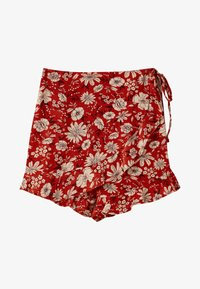 PULL&BEAR - M PAREO-STIL  - Shorts - red - 4