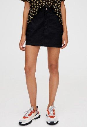 MIT 5 TASCHEN  - Áčková sukně - black