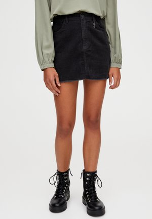 IN VERSCHIEDENEN FARBEN - A-snit nederdel/ A-formede nederdele - dark grey