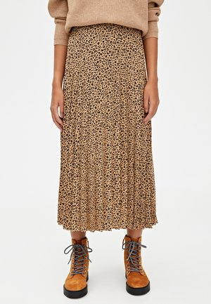 A-line skirt - brown