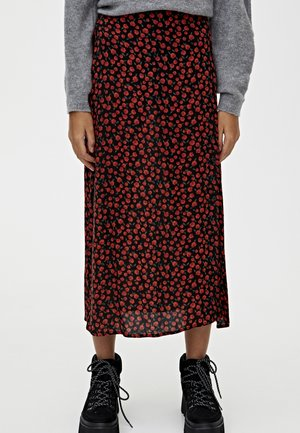 Maxi skirt - red