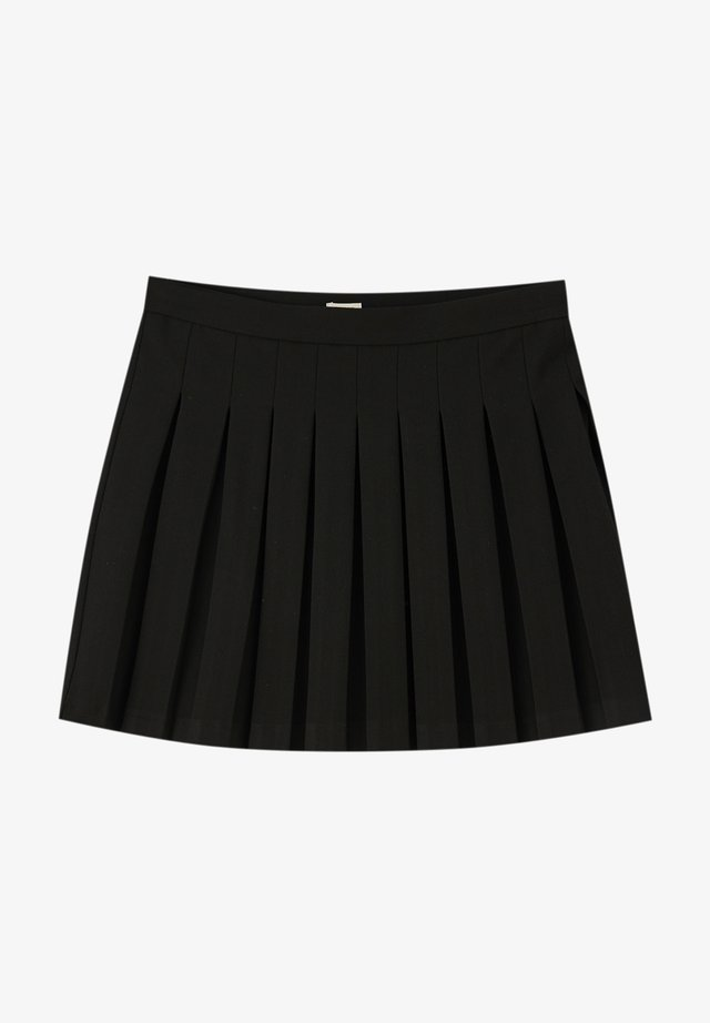 MIT KELLERFALTEN - A-linjekjol - black