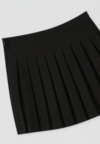 PULL&BEAR - A-lijn rok - black - 3