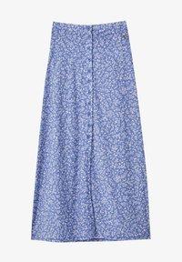 PULL&BEAR - Pleated skirt - blue - 6