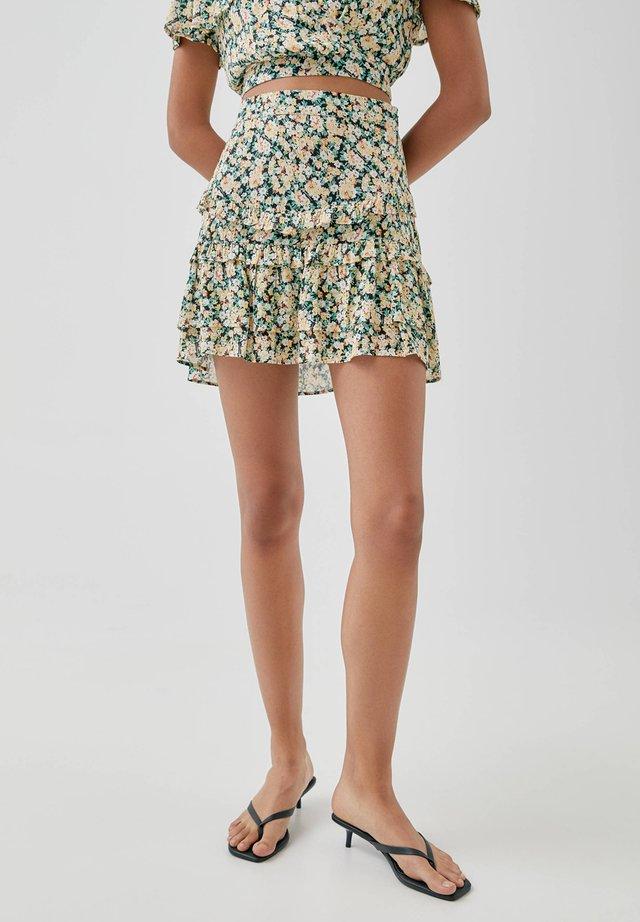 A-snit nederdel/ A-formede nederdele - multi-coloured