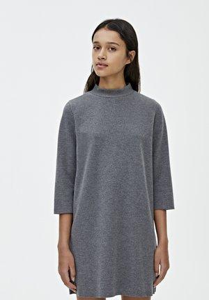 Pletené šaty - dark grey