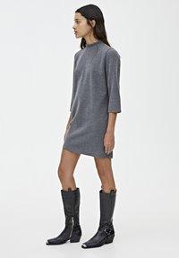 PULL&BEAR - Robe pull - dark grey - 3