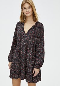 PULL&BEAR - Robe d'été - black - 3