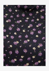 PULL&BEAR - LANGÄRMELIGES KLEID MIT BLUME 05391317 - Sukienka letnia - black - 5