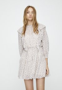 PULL&BEAR - Denní šaty - beige - 0
