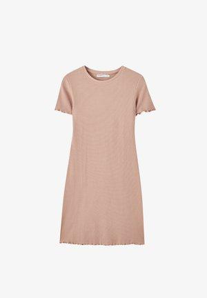 Pletené šaty - rose