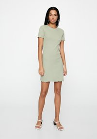 PULL&BEAR - Jumper dress - green - 1