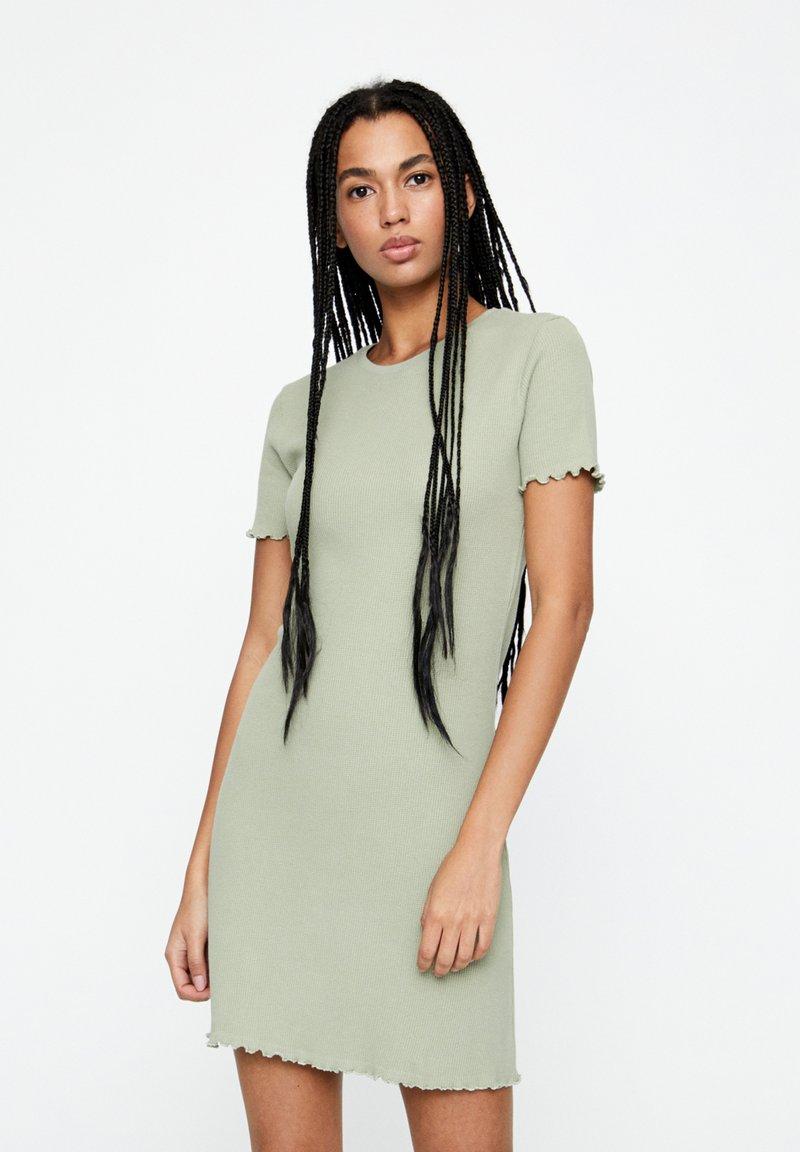 PULL&BEAR - Jumper dress - green