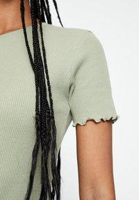 PULL&BEAR - Jumper dress - green - 4