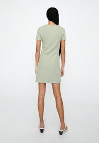 PULL&BEAR - Jumper dress - green - 2