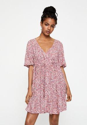 Košilové šaty - rose