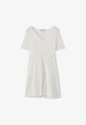 IN WICKELOPTIK - Day dress - white