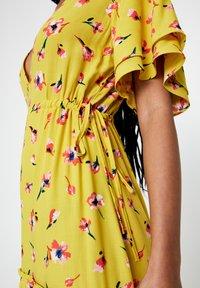 PULL&BEAR - Maxi-jurk - mustard yellow - 4