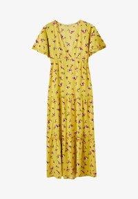 PULL&BEAR - Maxi-jurk - mustard yellow - 5