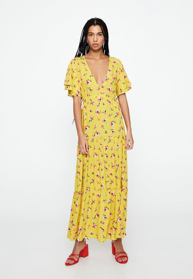 Maxi-jurk - mustard yellow