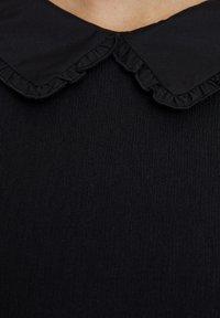 PULL&BEAR - MIT KNÖPFEN - Denní šaty - black - 5