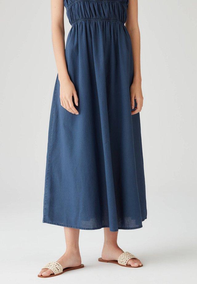 KURZARMKLEID IN WICKELOPTIK - Korte jurk - dark blue