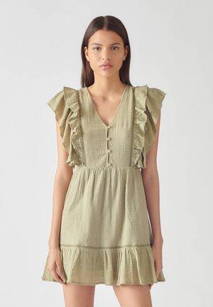 WICKELOPTIK - Denní šaty - brown
