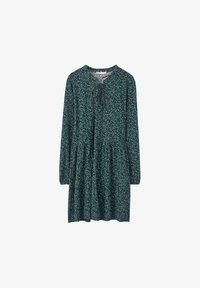 PULL&BEAR - MIT GÜRTEL  - Denní šaty - green - 6