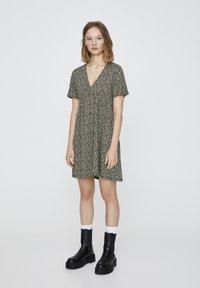 PULL&BEAR - MINI - Day dress - light green - 1