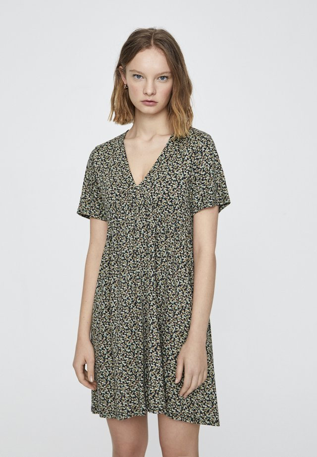 MINI - Korte jurk - light green