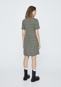 PULL&BEAR - MINI - Day dress - light green - 2