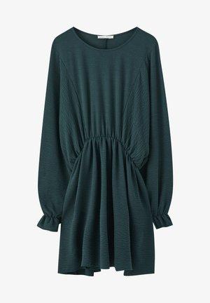 GESTREIFTES BASIC - Sukienka letnia - dark green