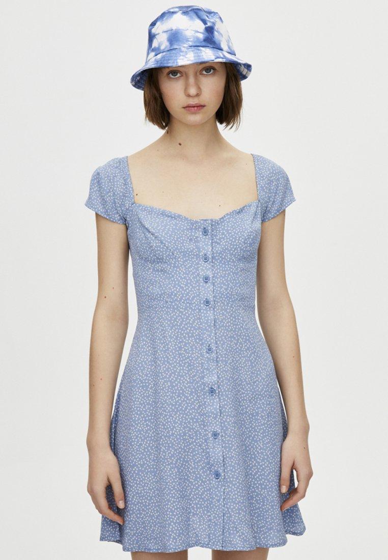 PULL&BEAR - Vestito estivo - light blue