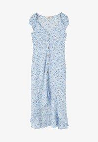 PULL&BEAR - MIT KNÖPFEN - Shirt dress - light blue - 5