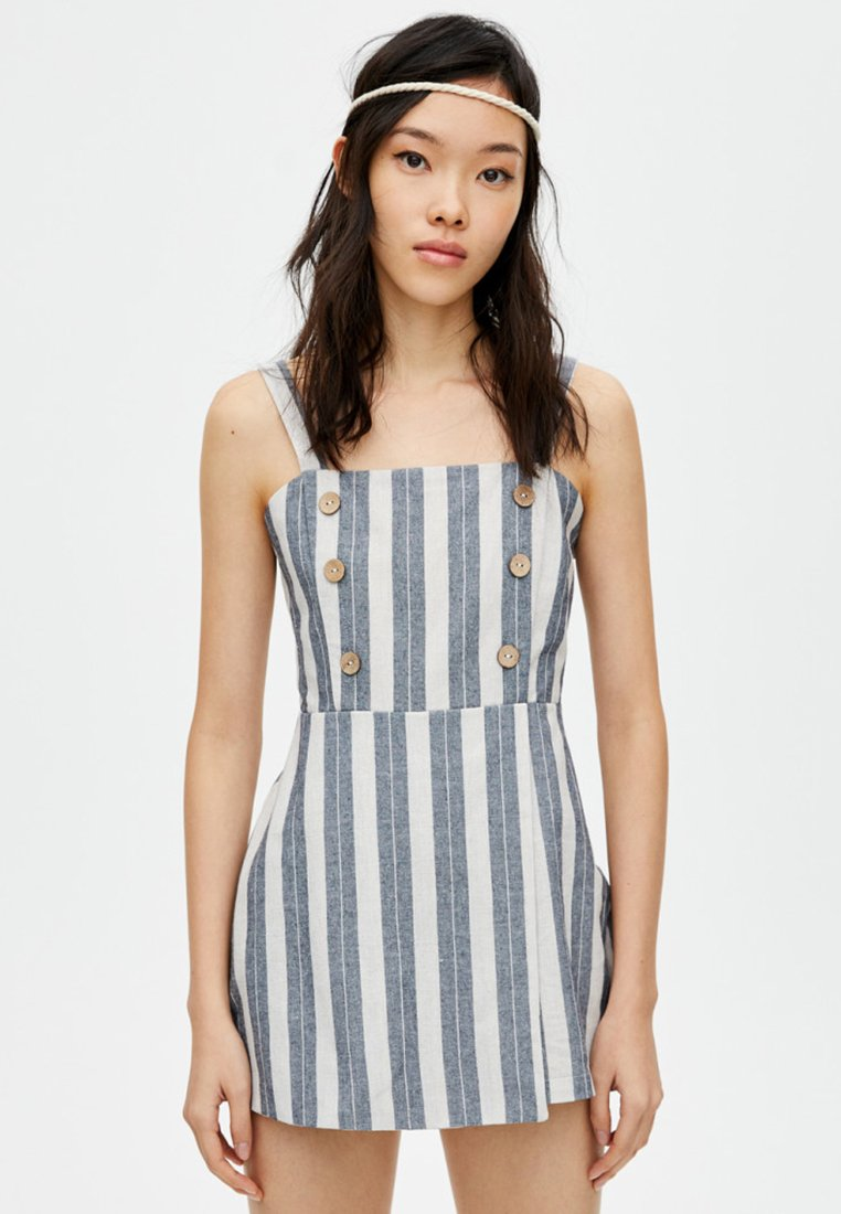 PULL&BEAR - JOIN LIFE  - Jumpsuit - blue