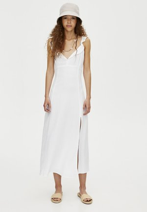 MIT TRÄGERN  - Maxi šaty - white