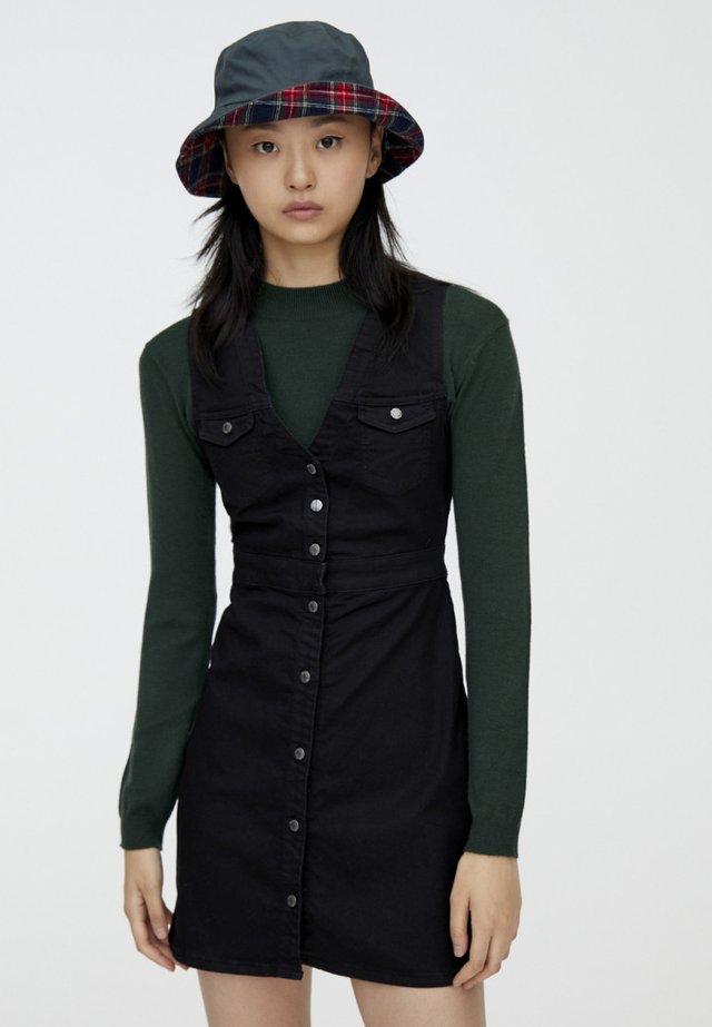 MIT TASCHEN  - Sukienka jeansowa - black
