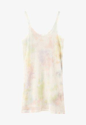 MIT TRÄGERN UND BATIK-PRINT IN MAUVE  - Denní šaty - multi-coloured