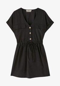 PULL&BEAR - Robe d'été - black - 5