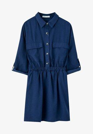 MIT TASCHEN - Shirt dress - dark blue
