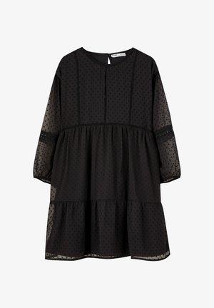 MIT PLUMETIS - Korte jurk - black