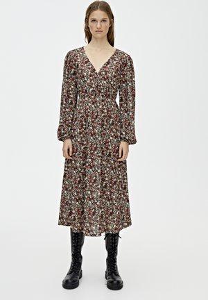 Denní šaty - bordeaux