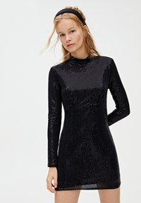 PULL&BEAR - Sukienka koktajlowa - black - 0
