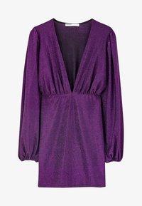 PULL&BEAR - MIT BALLONÄRMELN  - Robe de soirée - purple - 6