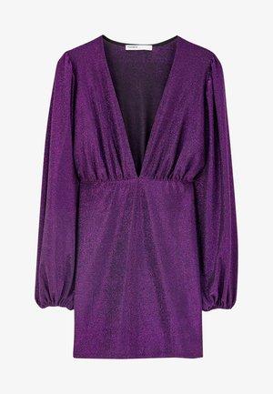 MIT BALLONÄRMELN  - Robe de soirée - purple
