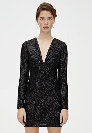 MIT ZIERKNOTEN - Sukienka koktajlowa - black