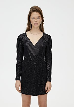 MIT BALLONÄRMELN - Cocktail dress / Party dress - black