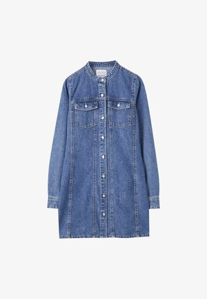 JEANSKLEID MIT MAOKRAGEN 05392301 - Sukienka jeansowa - blue
